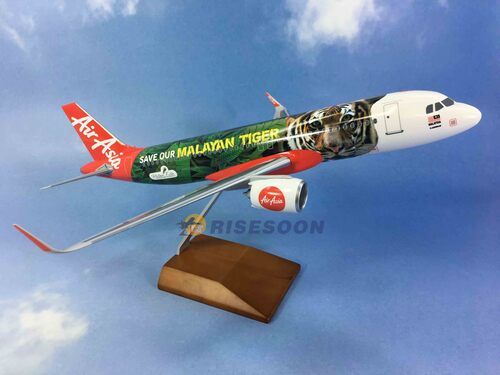 Air Asia ( Save our Malayan Tiger ) / A320  / 1:100  |AIRBUS|A320