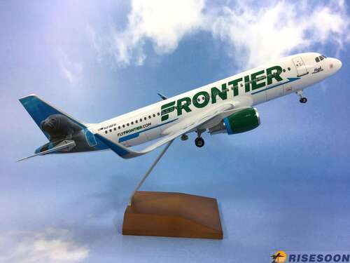 Frontier Airlines ( Manatee ) / A320 / 1:100  |AIRBUS|A320