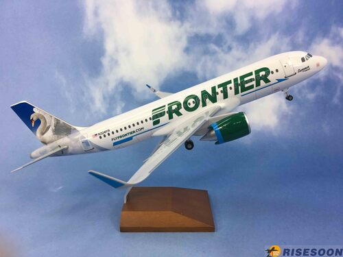 Frontier Airlines ( Frontier Swan ) / A320 / 1:100  |AIRBUS|A320