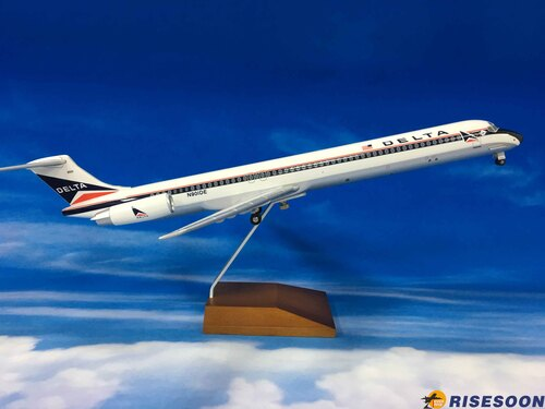 Delta Air Lines / MD80 / 1:100  |MCDONNELL|MD80